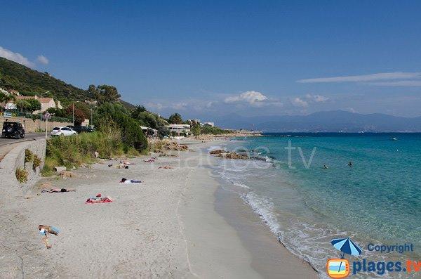 Spiaggia di Barbicaja - Ajaccio - Corsica