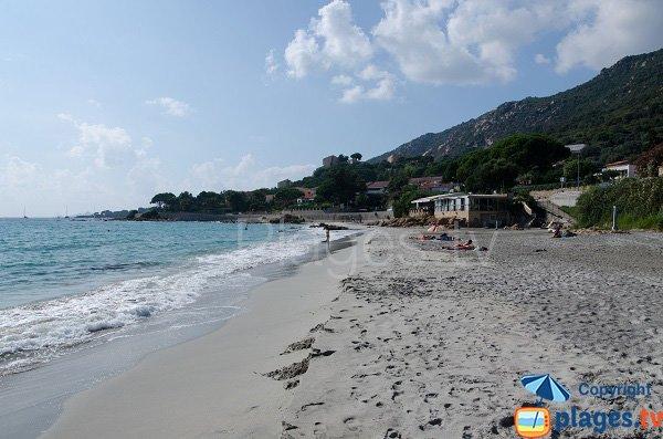spiaggia e ristorante Ajaccio - Barbicaja