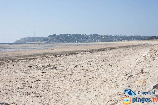 Photo of Barneville beach in France