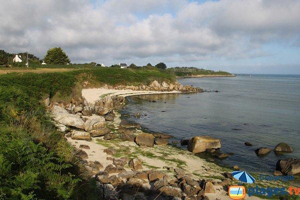 Photo des plages de Barrachou à Guissény - Bretagne