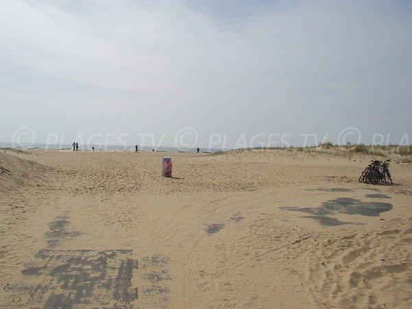Plage et dunes de la Barrique à La Faute sur Mer
