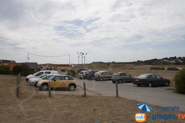 Parking de la plage du Bas Pouldu - Guidel