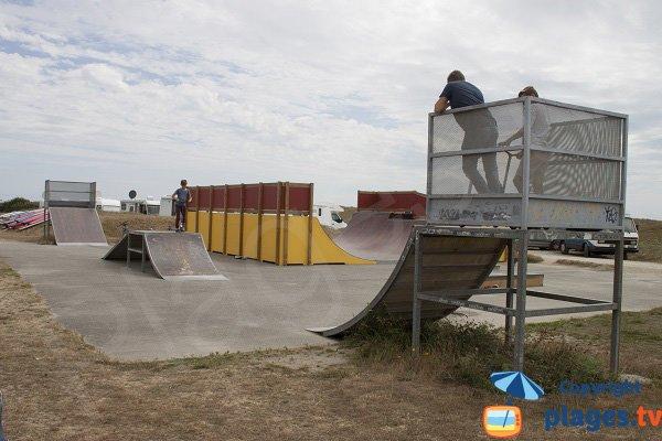 Skate parc à Guidel
