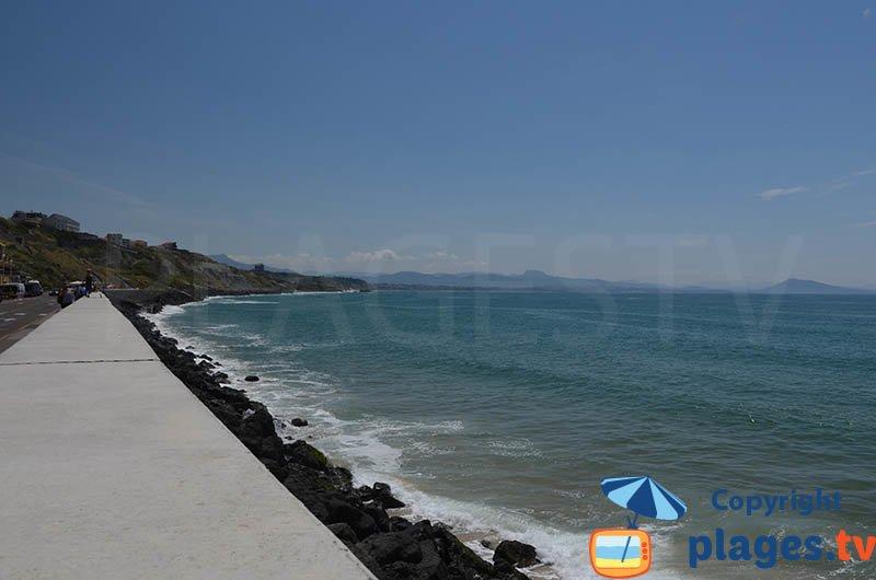 Plage des Basques - Biarritz - Plus belles plages de France ?