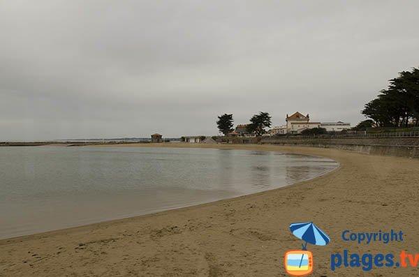 Photo de la plage du Plan d'eau à La Bernerie en Retz