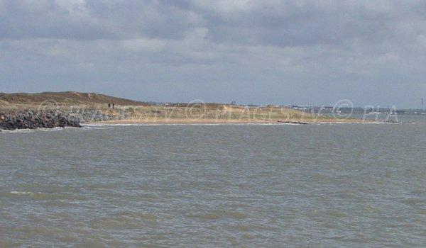 Plage de la Batterie en Vendée à l'Aiguillon sur Mer