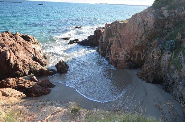 Cricca di sabbia a Cannes - nudisti