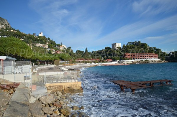 private Monte Carlo Beach in Roquebrune