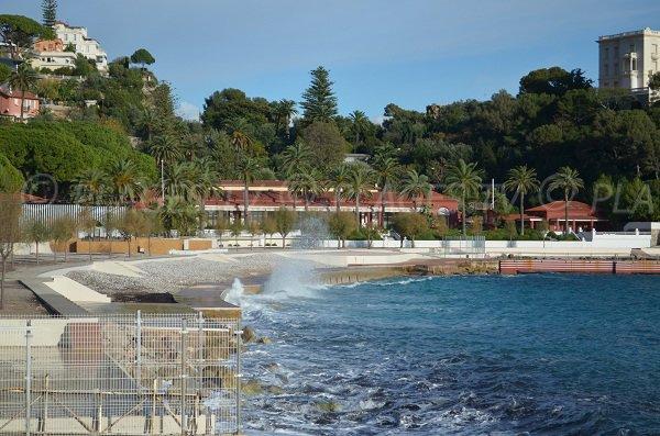 Plage privée Beach de Roquebrune Cap Martin