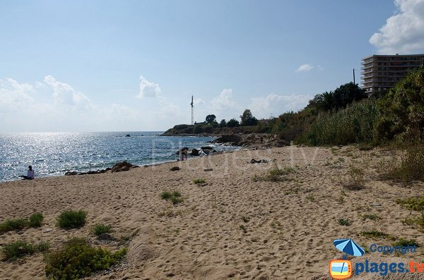 Photo de la plage Beau Rivage à Ajaccio