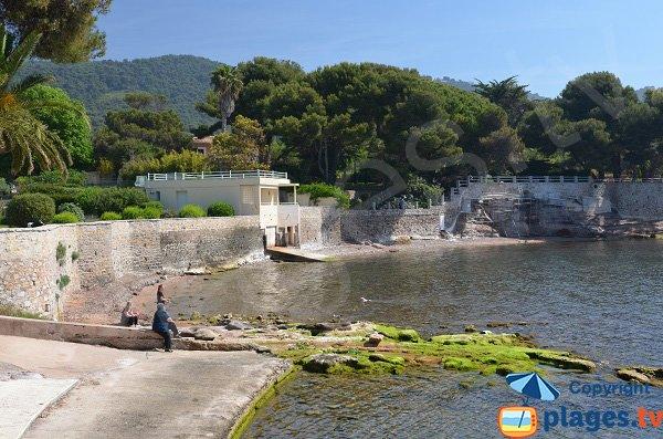 Plage de beau rivage carqueiranne 83 var paca - Coiffeur du port carqueiranne ...