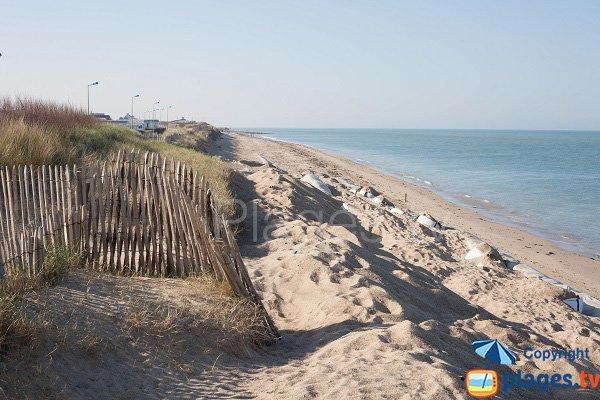 Photo de la plage de Beau Rivage à Gouville
