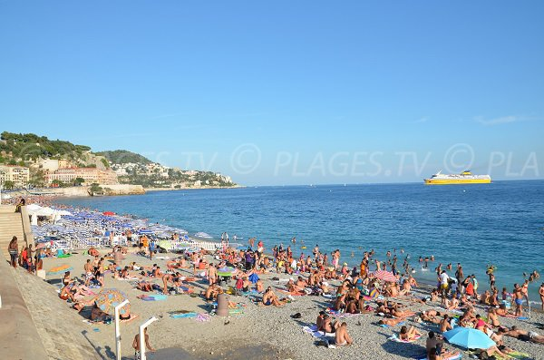 Private beach in Nice near old city - Beau Rivage