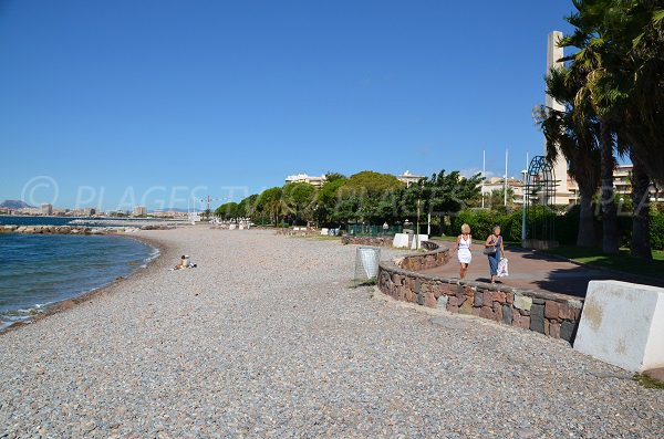 Spiaggia di Beau Rivage a Saint Raphaël