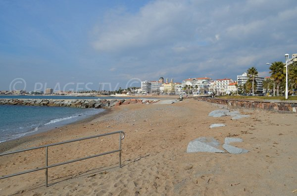 spiaggia di sabbia Beau Rivage di St Raphael