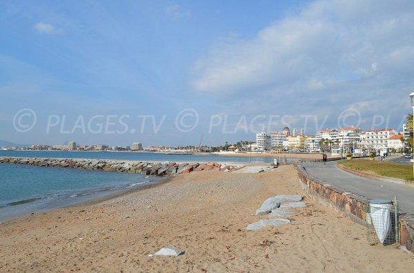 Spiagge di Beau rivage e Veillat a St Raphael