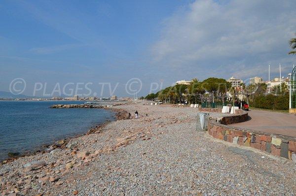 Spiaggia Beau Rivage a St Raphael - Francia