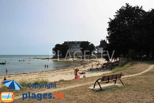 Promenade autour de la plage de Beaumer à Carnac