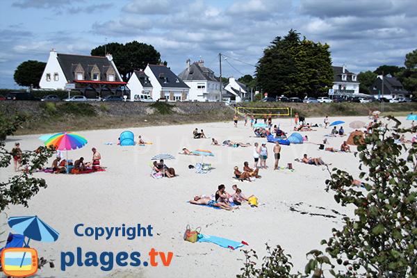 Environnement de la plage de Beaumer - Carnac