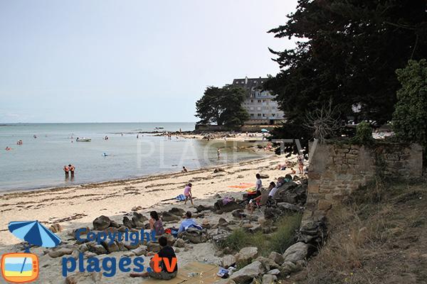 Photo de la plage de Beaumer à Carnac
