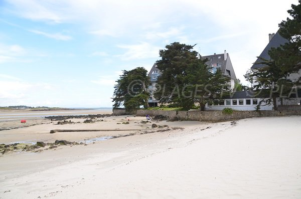 Beaumer beach in Carnac in France