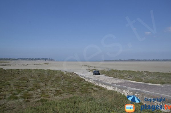 Photo de la plage de la Beaussais à Trégon