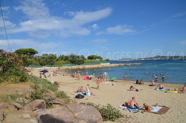 Grimaud beach with St Tropez view - Beauvallon