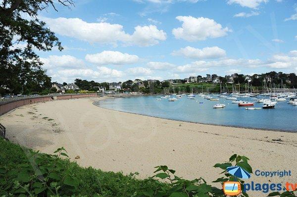 Plage de Bechay en direction de l'est - Saint Briac sur Mer