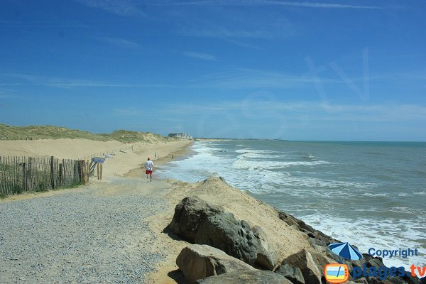 Becs beach in Saint Hilaire de Riez - Vendee