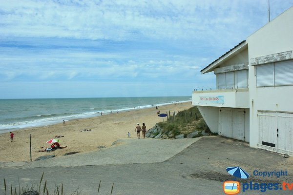 lifeguard station of Becs beach - Saint Hilaire de Riez