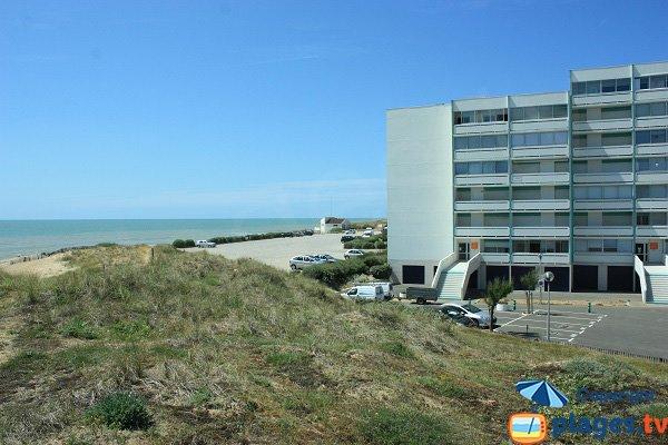 Résidence autour de la plage des Becs de St Hilaire sur Riez