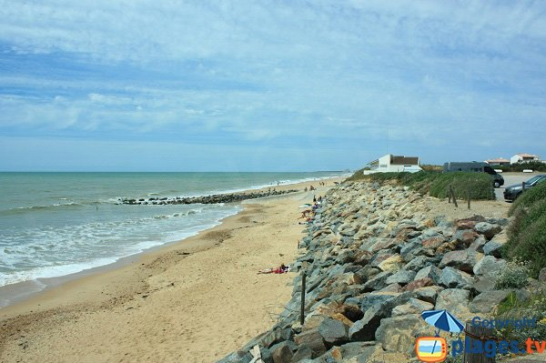 Photo of Becs beach in Saint Hilaire de Riez in France