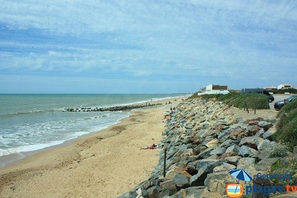 Photo of Becs beach in Saint Hilaire de Riez in France