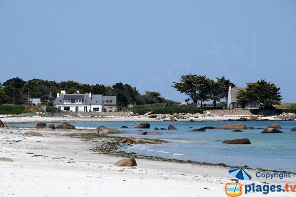 Photo de la plage de Beg ar Scarf à Brignogan-Plage