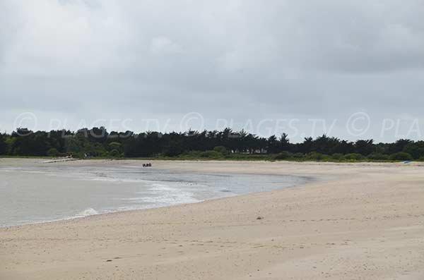 Photo de la plage de Beg Lann à Sarzeau