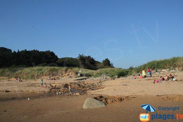 Environnement de la plage de Goaslagorn - Lannion Beg-Leguer