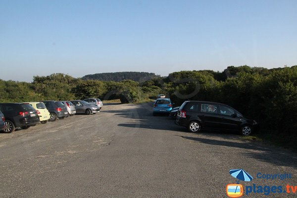 Parking of Maez an Aod beach - Lannion