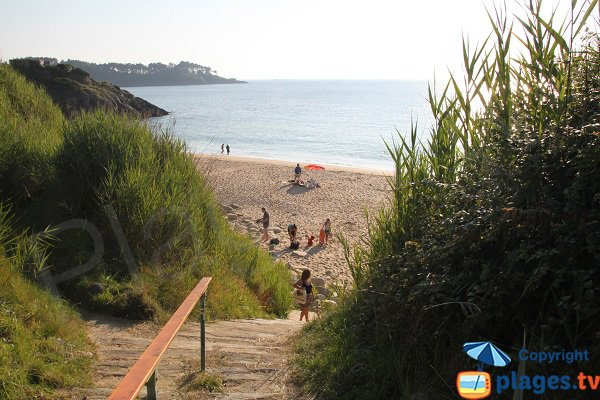 Photo of Maez-an-Aod beach in Lannion in France