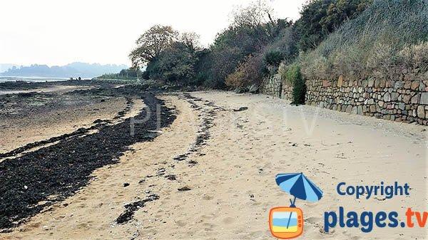Plage de Beg Sable à Lanmodez - Bretagne