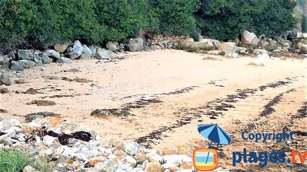 Plage de sable de Beg Sable à Lanmodez