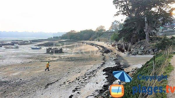 Photo de la plage de Beg Sable à Lanmodez - Bretagne