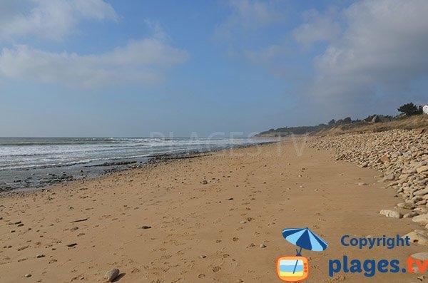 Photo de la plage de la Ragnette - Saint Vincent sur Jard