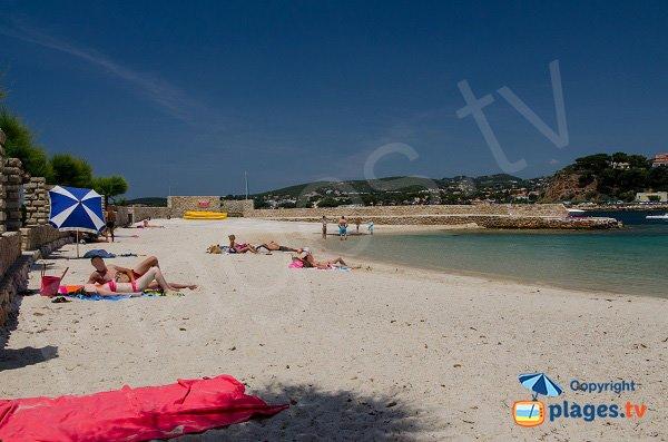 Spiaggia pubblica sull'isola di Bendor
