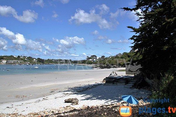 Photo de la plage de Beniguet à Saint Pabu