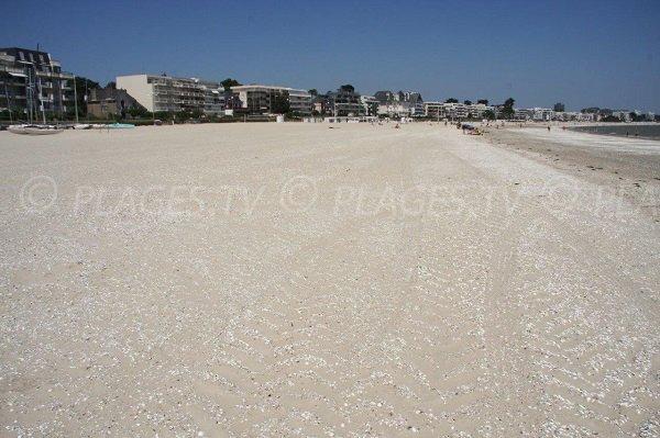 Benoit beach in La Baule in France