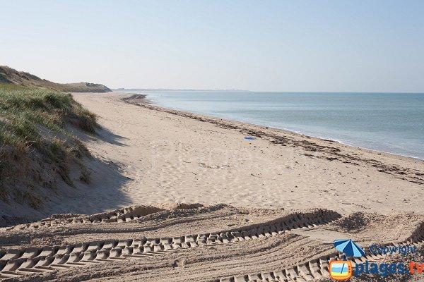 South beach in Pirou
