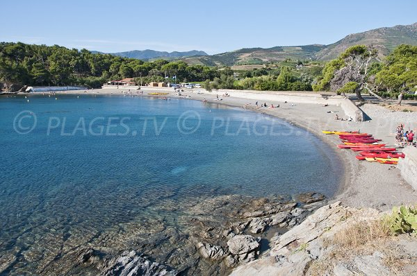 Photo of Bernardi beach in Port Vendres - France