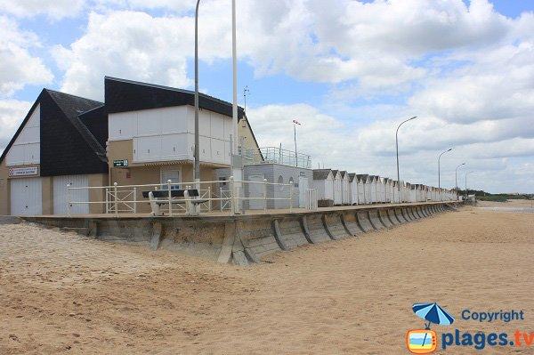 Lifeguard station of Bernières-Plage
