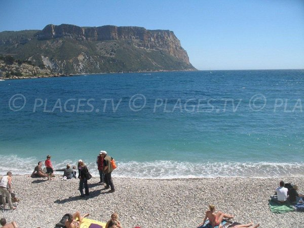 plage du bestouan cassis 13 bouches du rhone paca. Black Bedroom Furniture Sets. Home Design Ideas