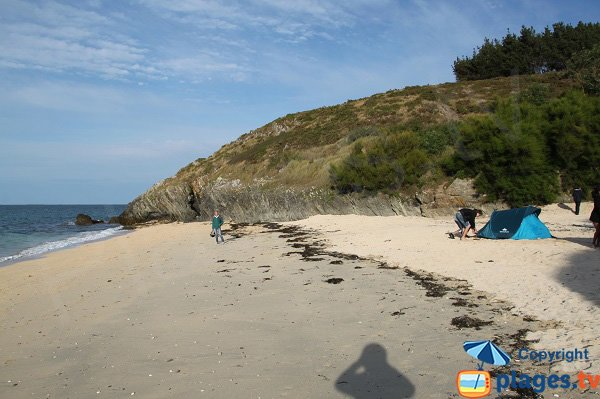 Photo of Biche beach in Belle Ile en Mer in France
